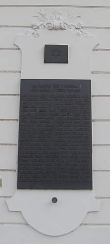 Memorial to the Jews of Beroun
