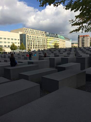 Berlin - Memorial to the Murdered Jews of Europe