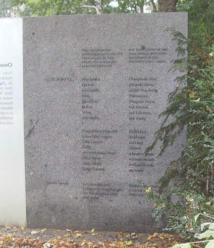 Berlin - Memorial to the Sinti and Roma