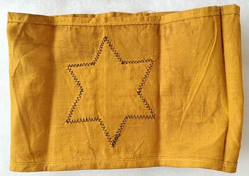 """""""Jude"""" star of David armband for opinions..."""