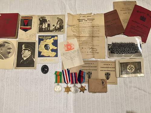 Concentration camp, and military collection