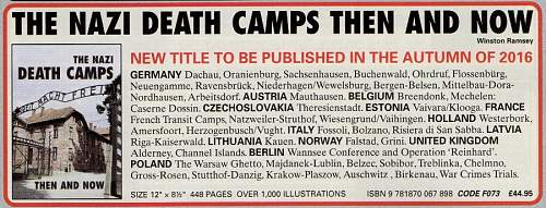 New Then & Now Book 'The Nazi Death Camps'