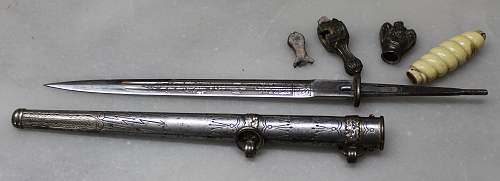 Kriegsmarine dagger opinions....late war?