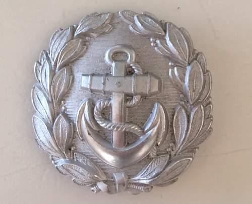 Kriegsmarine silver admin buckle