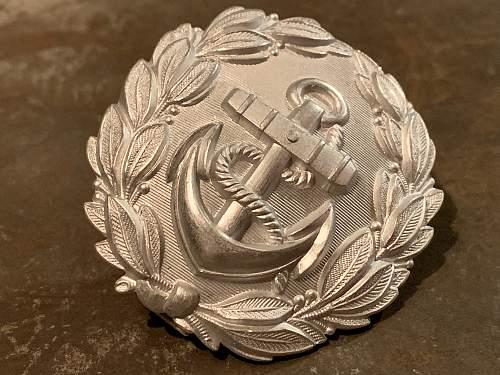 Kriegsmarine (Naval) Administration Buckle