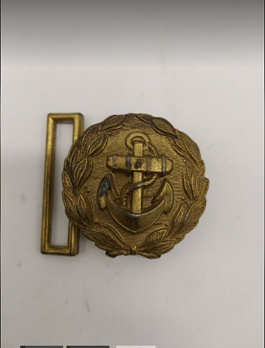 buckle without signature