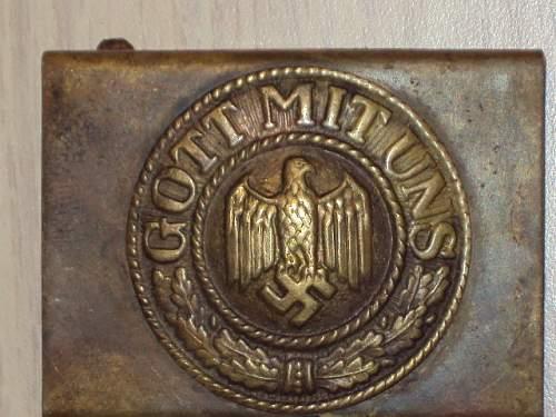 Brass Kriegsmarine Buckle: Opinions Please