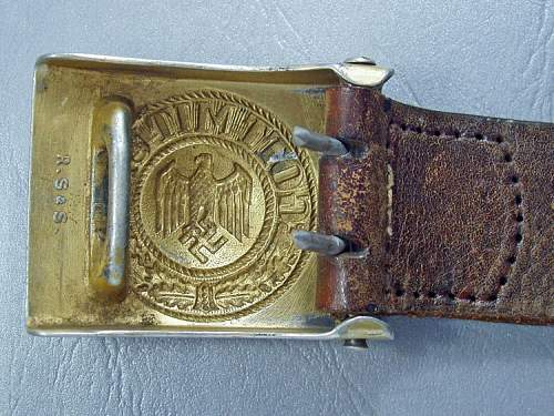 Kreigsmarine belt buckle