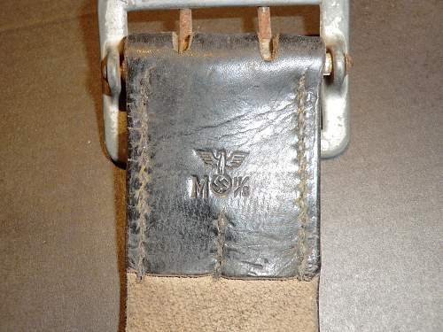 Kriegsmarine belt and buckle