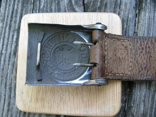 KM Buckle & Belt
