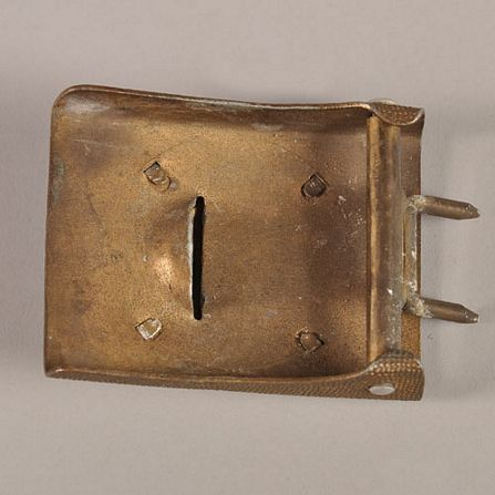 Two-piece KM parade buckles