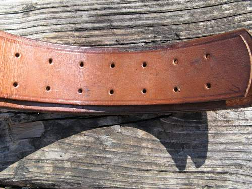 1939 KM Belt - Brown