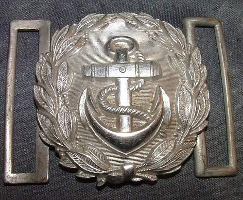 Kriegsmarine admin buckle