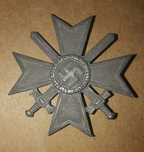 Kriegsverdienstkreuz Klasse 1 mit Schwertern
