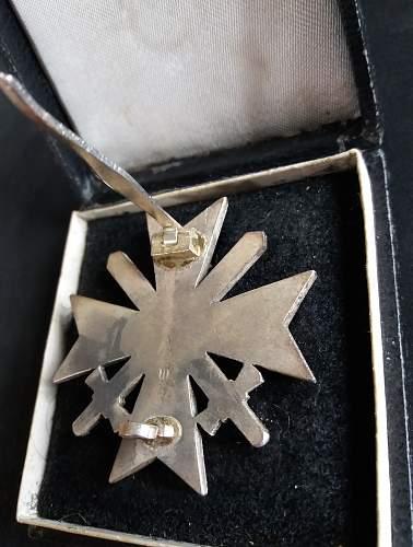 Kriegsverdienstkreuz Klasse 1. mit Schwertern
