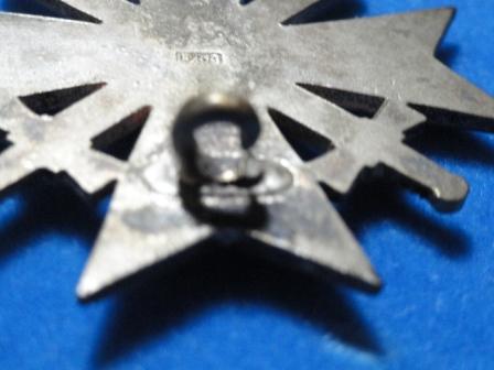 Kriegsverdienstkreuz / War Service Cross - 1st Class - w/ swords - No M.M.