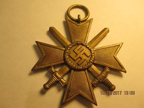 Kriegsverdienstkreuz 2.Klasse Authenticity Review Maker Mark 93
