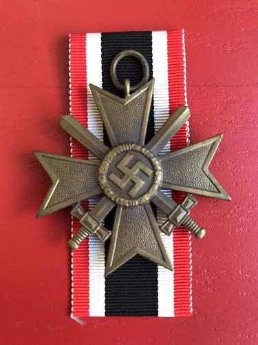 Original Kriegsverdienstkreuz 2.Klasse