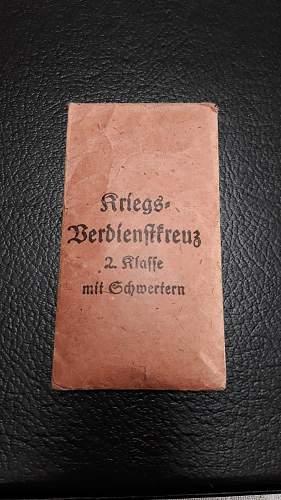 Kriegsverdienstkreuz 2.Klasse mit Schwertern good or fake?