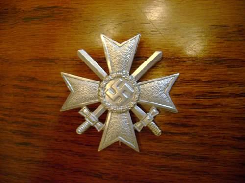 Kriegsverdienstkreuz,,,good or bad?