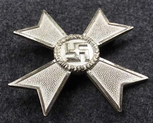Kriegsverdienstkreuz 1. Klasse ohne Schwertern, Gschiermeister