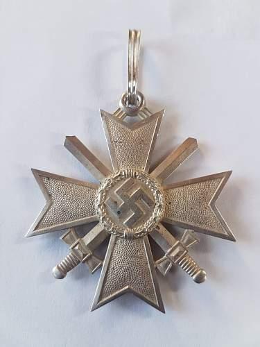 Ritterkreuz des Kriesverdienstkreuzes mit Schwerter