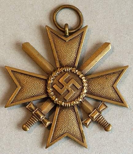 Kriegsverdienstkreuz 2. Klasse mit Schwertern