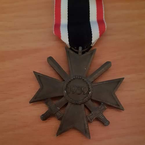 Kriegsverdienstkreuz 2.Klasse mit Schwertern maker