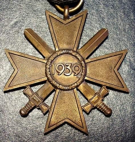 Kriegsverdienstkreuz 2. Klasse. Manufacturer? №2