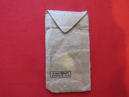 Kriegsverdienstkreuz 2.Klasse mit Schwertern Envelope Opinion
