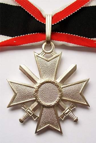 Collection of 1957 Kriegsverdienstkreuz.
