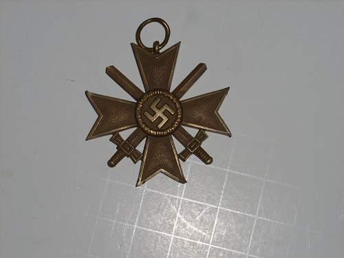 Real or Fake Kriegsverdienstkreuz?