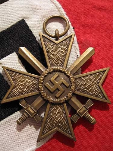 Kriegsverdienstkreuz zweite klasse mit Schwerten MM51