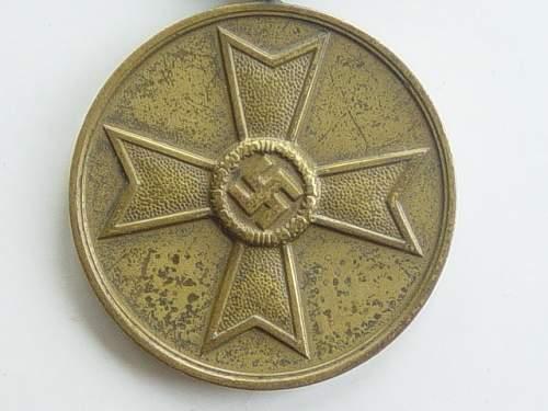 Click image for larger version.  Name:War Merit Medal. Close up..jpg Views:60 Size:149.5 KB ID:145594