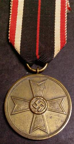Click image for larger version.  Name:7) KvK Merit Medal 3rd Class mm.jpg Views:79 Size:71.0 KB ID:145603