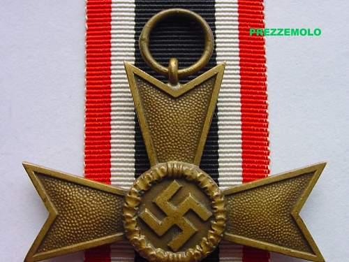 """KVK 2. KLASSE O. SCHWERTERN """" 52 """" , opinion please"""