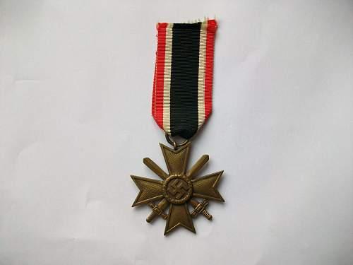 Kriegsverdienstkreuz  real or fake