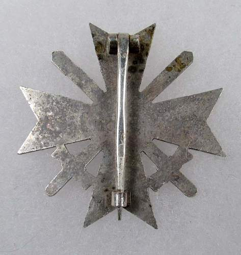 Kriegsverdienstkreuz mit Schwerten 1kl.