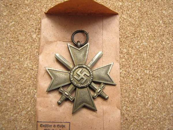 Is this War Merit Cross a Repro?