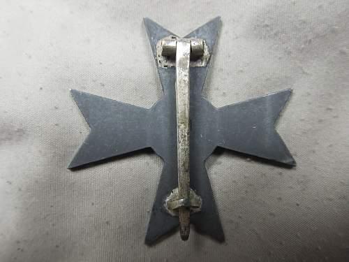 Kriegsverdienstkreuz 1. Klasse, ohne Schwertern by Deumer