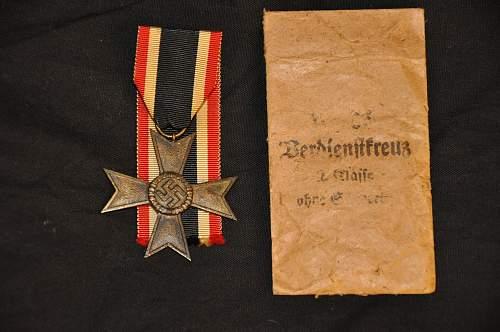 Kriegsverdienstkreuz 2.kl. ohne schwerten