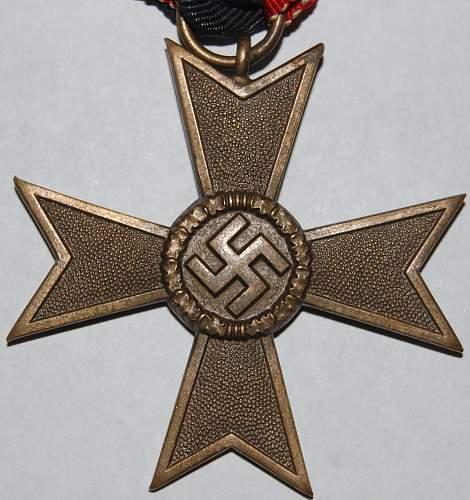 Kriegsverdienstkreuz W/ Swords got a friend...