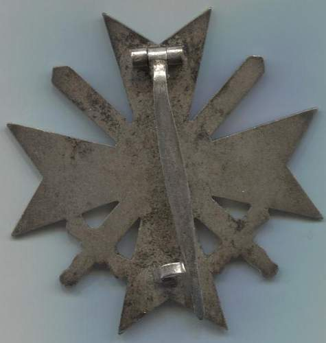 kriegsverdienstkreuz 1 klasse mit schwertern 62.