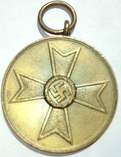 KVK Medal, Any concerns?