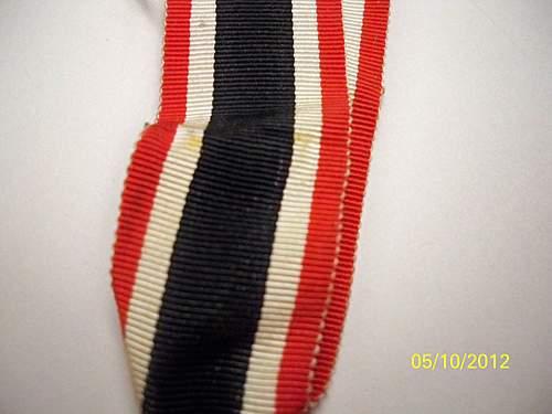 Kriegsverdienstkreuz 2.Klasse mit Schwertern.
