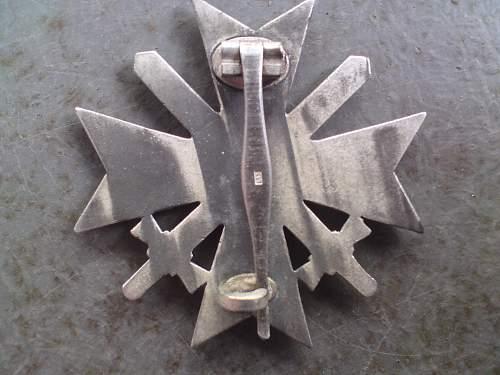 Kriegsverdienstkreuz 1.Klasse mit Schwertern - original?