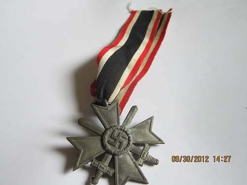 Kriegsverdienstkreuz 2.Klasse mit Schwertern: What is the value of this?