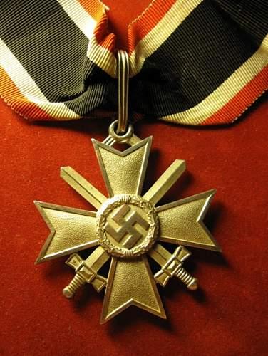 Ritterkreuz des Kriegsverdienstkreuz mit Schwertern