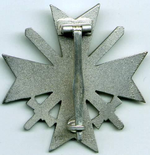 Original KVK 1 screwback maker?