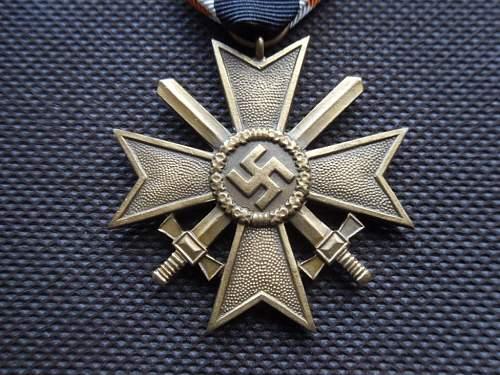 Kriegsverdienstkreuz 2.Klasse medals - Share